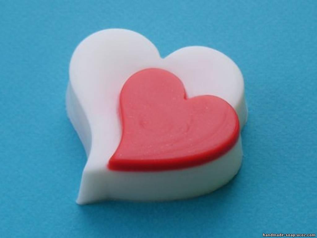 Сердце мыла своими руками